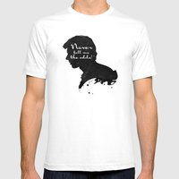 The Odds – Han Solo Silhouette Quote Mens Fitted Tee White SMALL