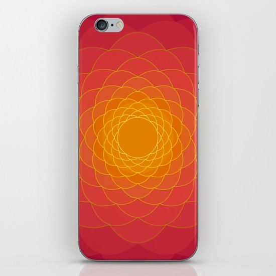 Oriental Background iPhone & iPod Skin