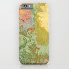 Vintage Southwest Map Slim Case iPhone 6s