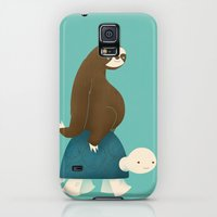 Galaxy S5 Cases featuring Slow Ride by Jay Fleck
