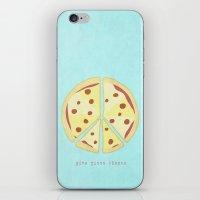 Give Pizza Chance iPhone & iPod Skin