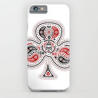 83 Drops - Clubs (Red & … iPhone 6 Slim Case