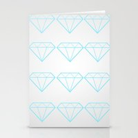 Diamonds Are A Girls Best Friend Stationery Cards
