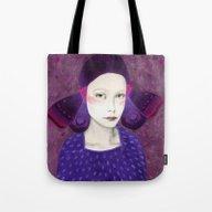 Tote Bag featuring Dana by Sofia Bonati