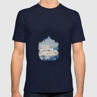 zirve Mens Fitted Tee Navy SMALL