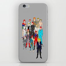 Bowie Doodle Square iPhone & iPod Skin