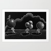 Water War Art Print