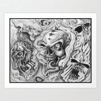 Flash 001 Page 1 Art Print