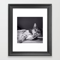 Laugh Framed Art Print