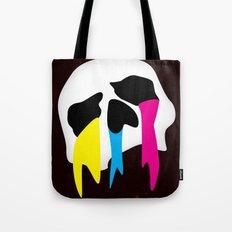 CMYK Death Tote Bag