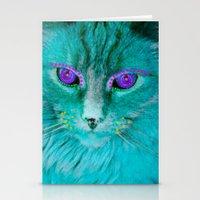Adorned Cat Stationery Cards