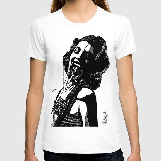 B&W Fashion Illustration - Part 2 T-shirt