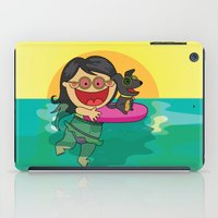 Beach Day! iPad Case