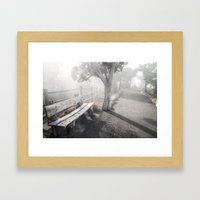 Mists Before the Trail of Time Framed Art Print