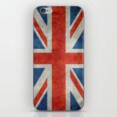 UK British Union Jack Fl… iPhone & iPod Skin