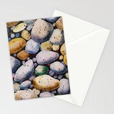 beach stones Stationery Cards
