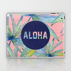 Aloha - pink version Laptop & iPad Skin