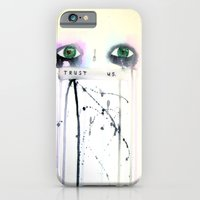 iPhone & iPod Case featuring Trust Us by Ryan Blanchar