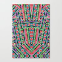 watermelon tribe Canvas Print