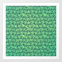 Cannabis / Hemp / 420 /… Art Print