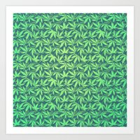 Cannabis / Hemp / 420 /… Art Print