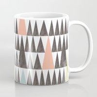 Triangle pattern Mug