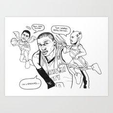 Duality of Westbrook Art Print