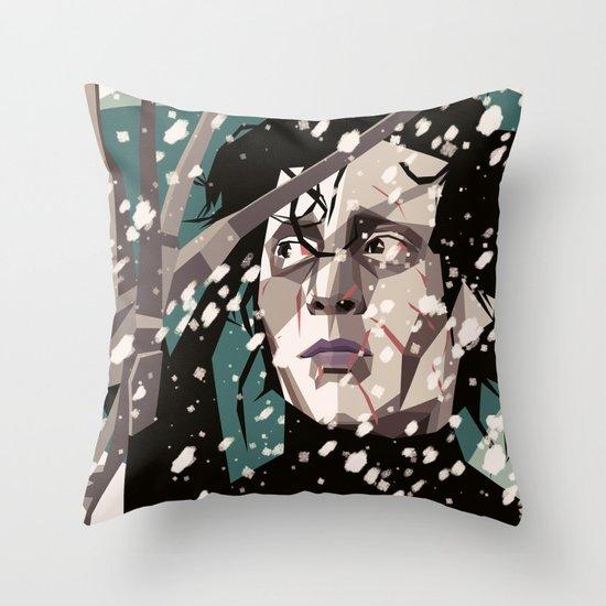 Handy man Throw Pillow