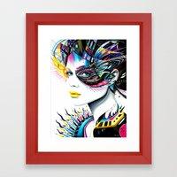 -In my Mind- Framed Art Print