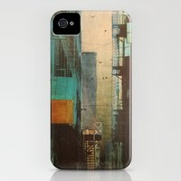 iPhone 4s & iPhone 4 Cases featuring ESCAPE ROUTE by Liz Brizzi