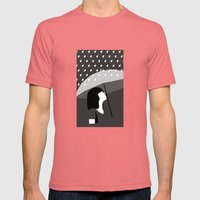 Close To Tears Mens Fitted Tee Pomegranate SMALL