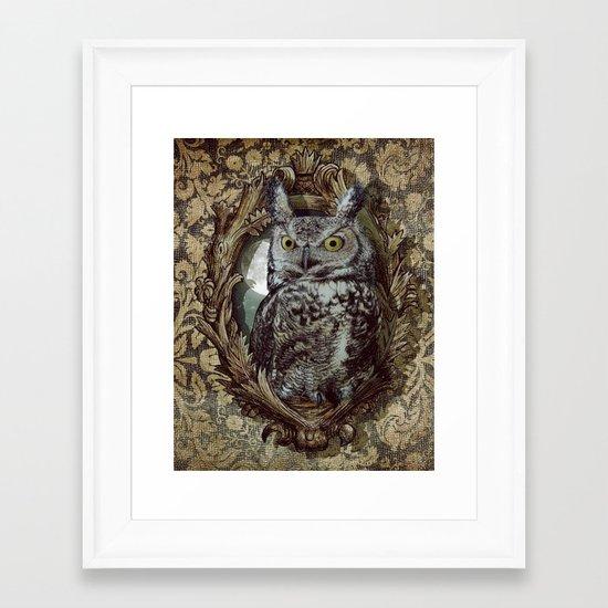 Moonlight Escape Framed Art Print
