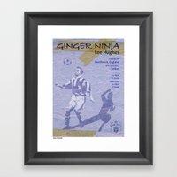 Ginger Ninja - Lee Hughe… Framed Art Print