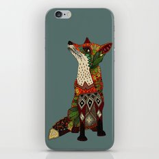 fox love juniper iPhone & iPod Skin