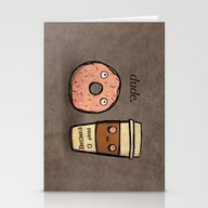 CAFFEINATED Stationery Cards