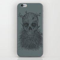 The Lumbermancer (Grey) iPhone & iPod Skin