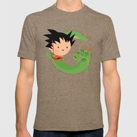 G Is For Goku Mens Fitted Tee Tri-Coffee SMALL