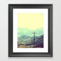 Beautiful Unknown Framed Art Print