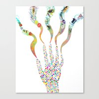 Hand Of God 2 Canvas Print