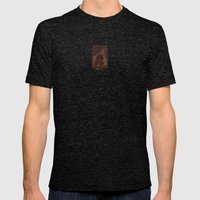 Winter Bear Mens Fitted Tee Tri-Black SMALL