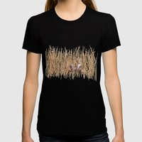 A Nightmare in Afrika Womens Fitted Tee Black SMALL