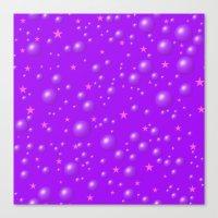 It's A Purple Dream Amon… Canvas Print