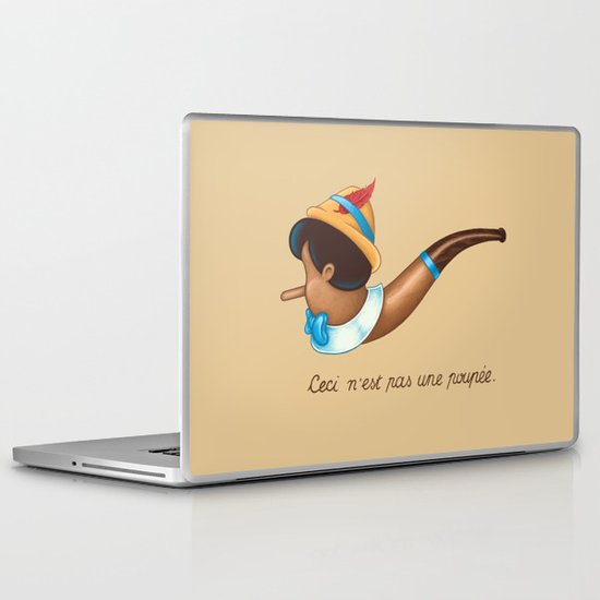 This is not a puppet Laptop & iPad Skin