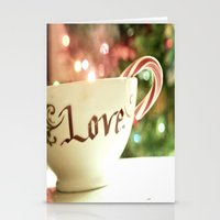 All The Things I Love Stationery Cards