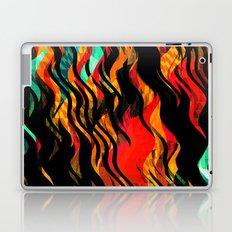 Flaming Laptop & iPad Skin