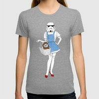Dorothy trooper Womens Fitted Tee Tri-Grey SMALL