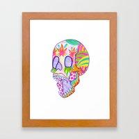 That's Skullarious. Framed Art Print