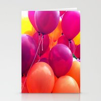 3.2 Hokie Balloons  Stationery Cards