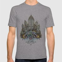'The Empire' (Full Color… Mens Fitted Tee Athletic Grey SMALL