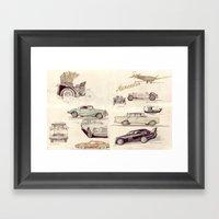 Mercedes-Benz-Museum, St… Framed Art Print